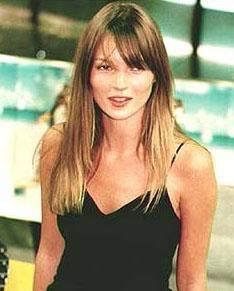 Kate Moss'un gençliğinden..
