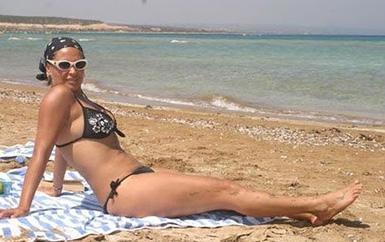 2008 yılında plajda yapılan bir çekimde böyle kusursuza yakın görünüyordu.