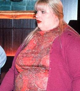 İncecik siluetiyle tanınan Gwyneth Paltrow rol gereği böyle obez bir kadına dönüştü.