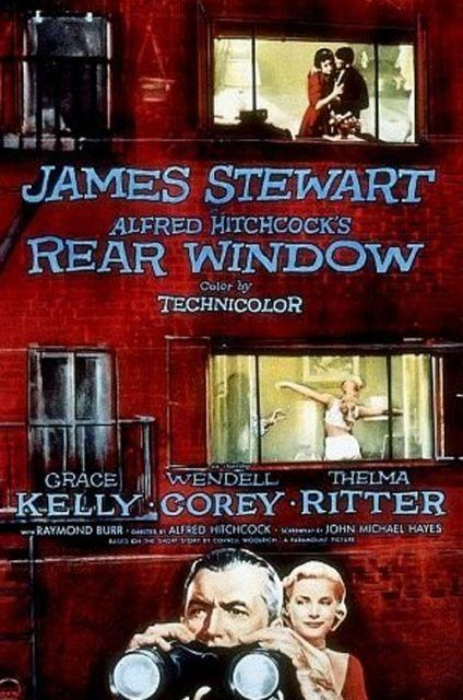 22-Arka Pencere 1954
