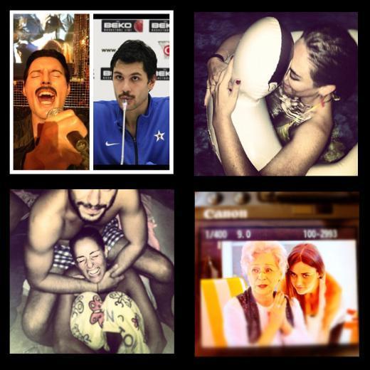 İşte ünlülerin objektifinden 8 Ağustos 2012'nin Instagram fotoğrafları ve ilginç yorumları...