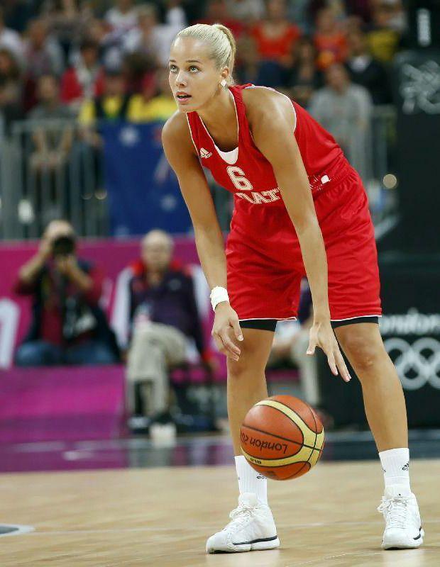 """Ünlü spor eğlence sitesi """"Bleacher Report"""", Londra olimpiyatlarının en güzel sporcusunu seçti. Sitenin bu yılki tercihi, Hırvat basketbolcu Antonija Misura oldu."""