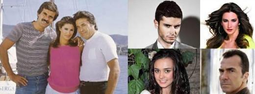 Dizinin uyarlandığı filmin kadrosunda Cüneyt Arkın, Tarık Akan ve Gülşen Bubikoğlu vardı.