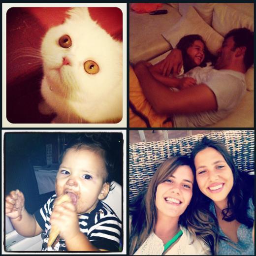 Ünlülerin objektifinden 24 Ağustos 2012'nin Instagram fotoğrafları ve ilginç yorumları.