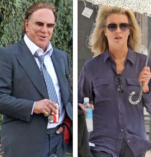 İki oyuncu bu kez Black November adlı politik gerilim filminde birlikte kamera karşısına geçiyorlar..
