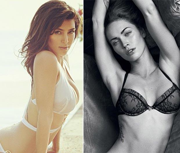 Kim Kardashian ve Megan Fox