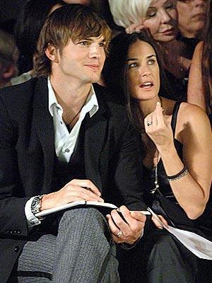 Demi Moore ve Ashton Kutcher