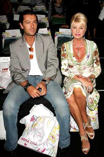 Ivana Trump ve Rossano Rubicondi