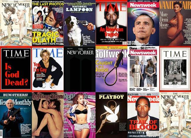 Dergilerin skandal kapakları - 1