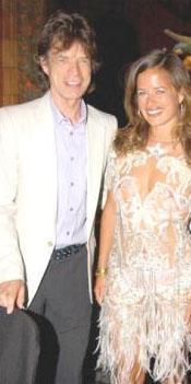 MICK JAGGER Çok çocuklu ünlülerden biri daha. Bianca Jagger ile yaptığı ilk evliliğinden Jade adlı bir kızı var.