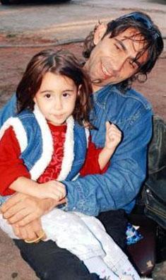 Minik kızın ilk adı annesi Niran Ünsal'ın adının tersten okunuşu..