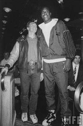 Arnold & Shaq