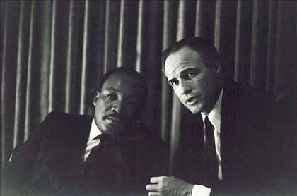 MLK & Marlon Brando
