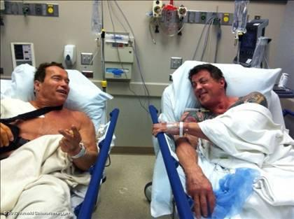 Arnold & Stalone
