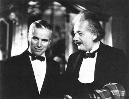 Chaplin & Albert E.