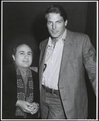Danny Devito & Christopher Reeve