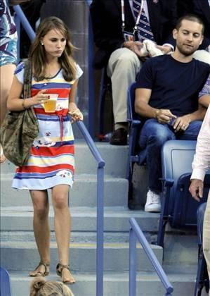 Tobey McGuire & Natalie Portman