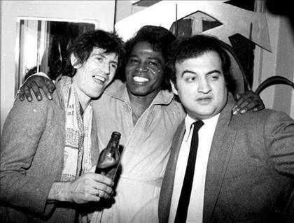 Keith Richards, James Brown & John Belushi