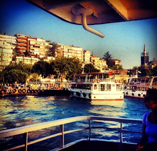Burası Kadıköy iskelesi.