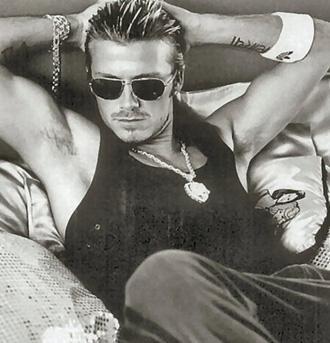 Beckham'ın bacakları 70 milyon dolara sigortalı.
