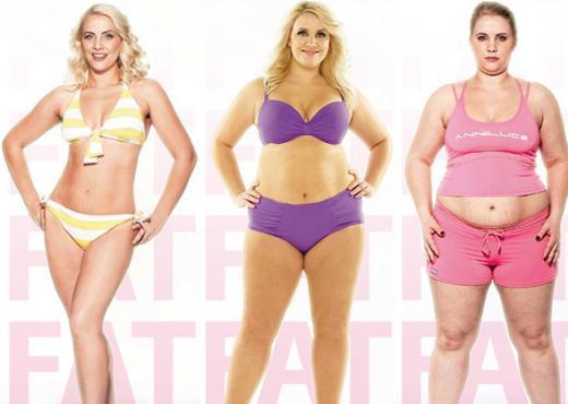 Defalarca fazla kilolarından kurtulmaya çalışan ve bunu da başaran Claire Richards artık kendini tombul ve kıvrımlı haliyle sevip kabul ettiğini de herkese ilan etmiş oldu.