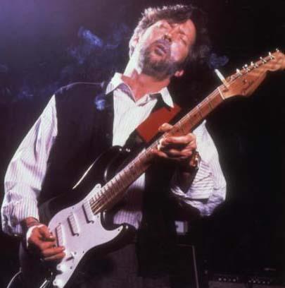 Clapton sanat dünyasının en ünlü depresif kişiliklerinden.