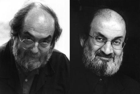 Bazı yerli ünlülerle yabancı ünlüler arasındaki benzerlik o kadar şaşırtıcı ki... İşte birbirine kardeş kadar benzeyen yerli ve yabancı ünlüler.  Stanley Kubrick - Salman Rüşdi