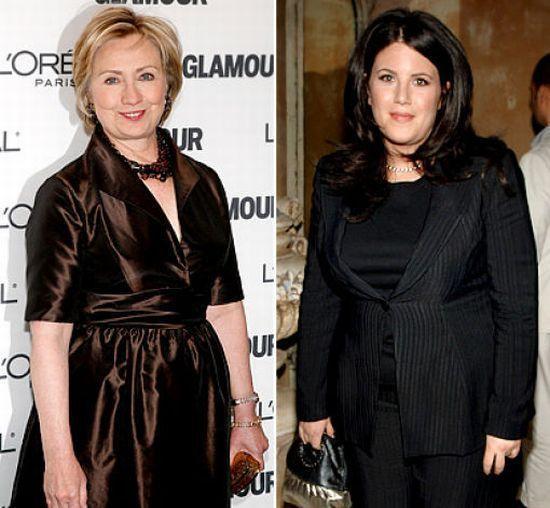 Hillary  Clinton - Monica Lewinsky