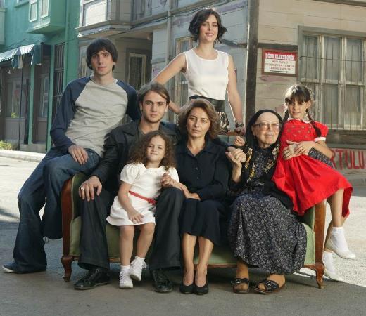 Dizinin yeni sezondaki çekimleri aynı yerde yapılmaya devam ediyor.