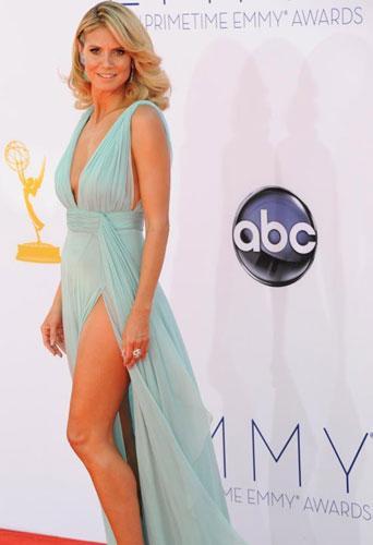 Manken Heidi Klum da bacaklarını sigortalattı. Ama onun için durum biraz farklı.