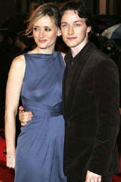 McAvoy 1979 eşi Anne-Marie Duff 1970 doğumlu.