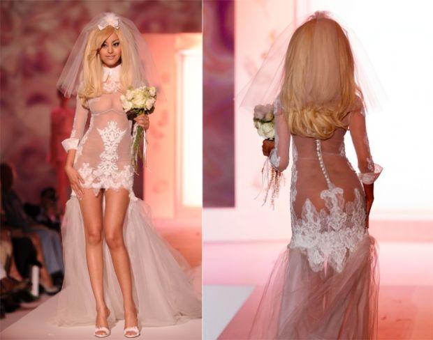 Самые откровенные свадебные платья фото