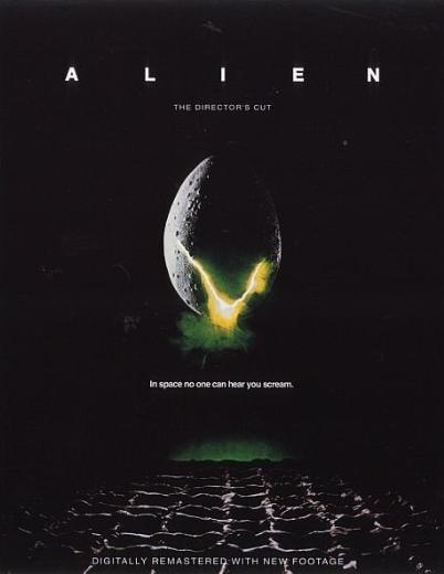 ALIEN / YARATIK  Yönetmenliğini Ridley Scott'ın yaptığı 1979 yapımı bilim-kurgu filmi 152 kalori yaktırıyor.