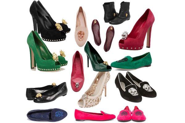 Kuru kafalı babet, topuklu ve çizme ayakkabılar