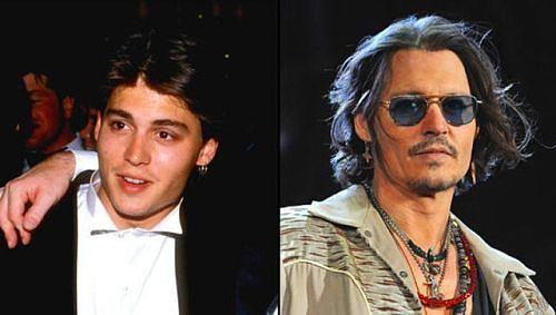 Johnny Depp liseyi oyuncu olmak için değil rock star olmak için bırakmış!