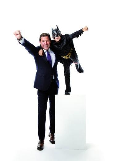 Cem Boyner'in kahramanı Batman.  (Kelebek)