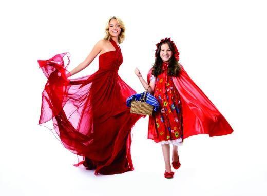 Kırmızı Başlıklı Kız rolü Bade İşçil'in oldu.