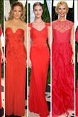 Vazgeçilmez Kırmızı Elbiseler! - 25