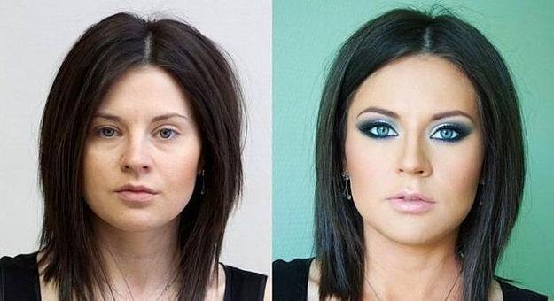 Rus Güzellerin Sırrı Çözüldü! 12 Fotoğrafta Makyaj - 7