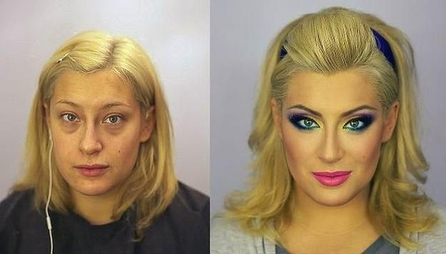 Rus Güzellerin Sırrı Çözüldü! 12 Fotoğrafta Makyaj - 8