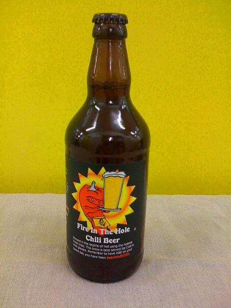 Acı Bira:   Her Şişesi düyanın en acı biberlerinden olan Serano Biberi içeren bu bira her yediği içtiğinde acı olsun isteyenlere hitap ediyor.