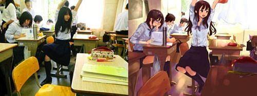İşte anime kızların gerçekleri! - 7