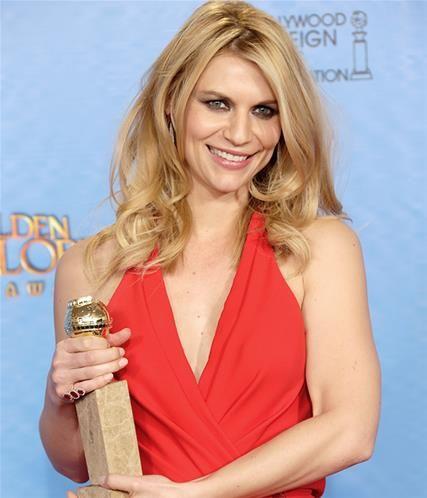 """En İyi Dizi Kadın Oyuncu Drama dalında """"Homeland"""" dizisi ile Claire Danes 'in oldu."""