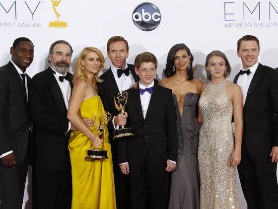 """En İyi TV Dizisi  ödülünü Drama dalında """"Homeland"""" dizisi aldı."""