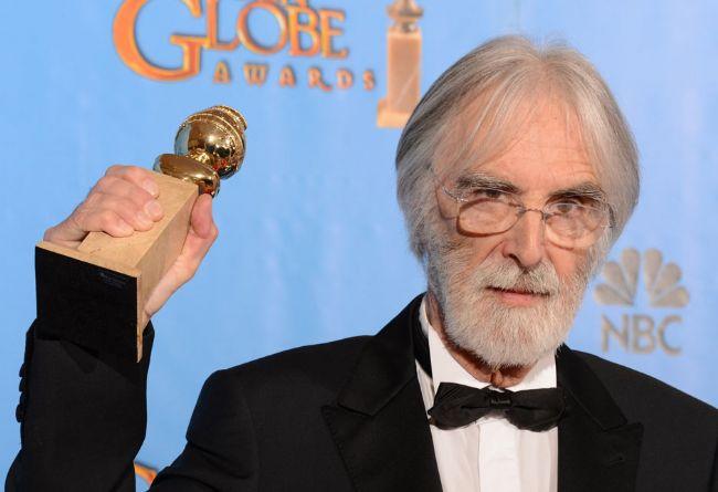 """En İyi Yabancı Film """"Amour"""" filmi seçildi. Michael Haneke ödülü aldı."""