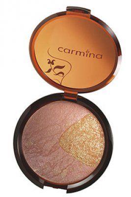 """CARMINA   Terrocotta Blusher Amber Edition:  Makyaja hayat veren bu """"terracotta"""" allık, kalıcı ve örtücü özel formülüyle ipeksi bir doku bırakıyor, içerdiği bronz pigment ve simlerle canlı ve parlak bir makyaj sağlıyor."""