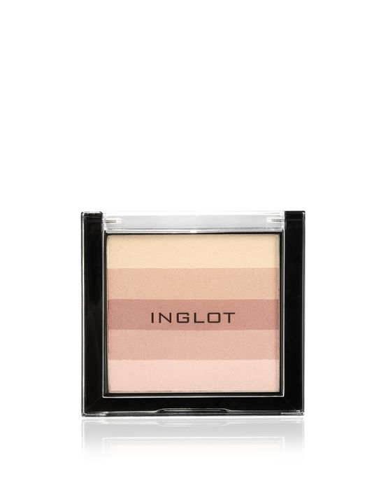 INGLOT   Highlighting Powder Face and Body:  Tüm cilt tonlarına uyum sağlayan pudra, yüze hoş bir parlaklık veriyor. Renklerin kolayca karıştırılması ve ayrı kullanımı için uygun çeşitte tonlar içeriyor. Her rengin farklı yoğunluğu, ürünün gündüz veya gece kullanımını sağlıyor.