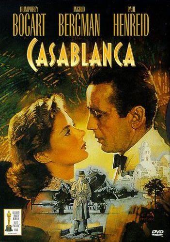 Casablanca  Filmin konusu II. Dünya Savaşı'nın ilk zamanlarında geçmektedir. Çek direniş örgütünün lideri Victor, Alman toplama kampından kaçarak Casablanca'ya gelir. Amacı Lizbon'a, oradan da ABD'ye iltica etmektir. Fakat bütün umutları, şans eseri Casablanca'nın en meşhur gece kulübünün sahibi olan Rick'e bağlanmıştır. Rick, kaçış için gerekli olan pasaportlara sahip tek kişidir. Öte yandan Rick'in, Victor'un yakalanması ya da ölmesi için önemli bir nedeni vardır. Victor'un karısı, Rick'in bir zamanlar kendisini terk ettiğine inandığı ve kalbinin derinliklerine gömdüğü büyük aşkıdır.
