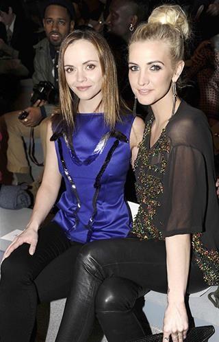 Christina Ricci ve Ashlee Simpson