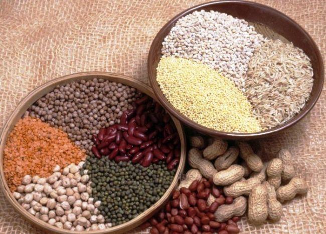 Kuru mercimek: 100 gr'da 314 kalori bulunur.  Kuru arpa: 100 gr'da 367 kalori bulunur.  Kuru bulgur: 100 gr'da 371 kalori bulunur.  Kuru kuskus: 100 gr'da 367 kalori bulunur.  Kuru mısır: 100 gr'da 342 kalori bulunur.